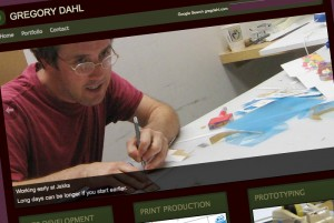 Greg Dahl -print artist